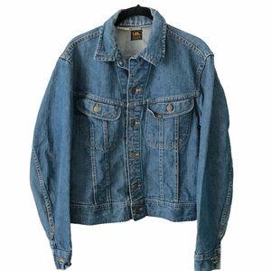 Vintage Lee's Blue Jean Jacket medium
